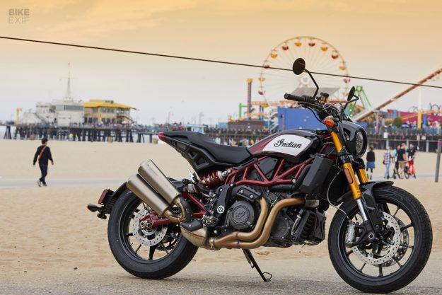 Review The Indian Ftr 1200 Bike Shed Street Tracker Cool Bikes