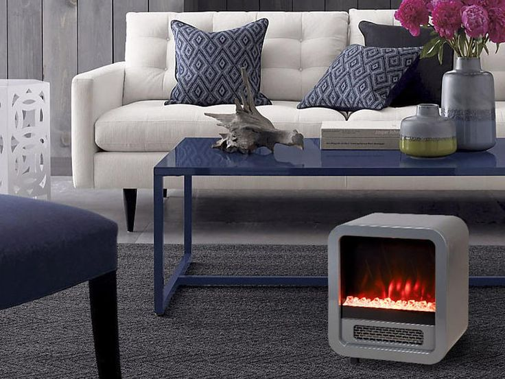 * Promo codes do not apply to this product, due to the brand's request.Add an old school touch of design to any room decor with a Mini Retro Stove. Its small size allows it to be neatly tucked away under a desk or table when not in use, but with its funky design you'll want to keep this cool electric fireplace out to show it off all year long. The Mini Retro Stove is one of the smallest portable electric fireplaces on the market and the only one of its kind with a full metal-stamped b...