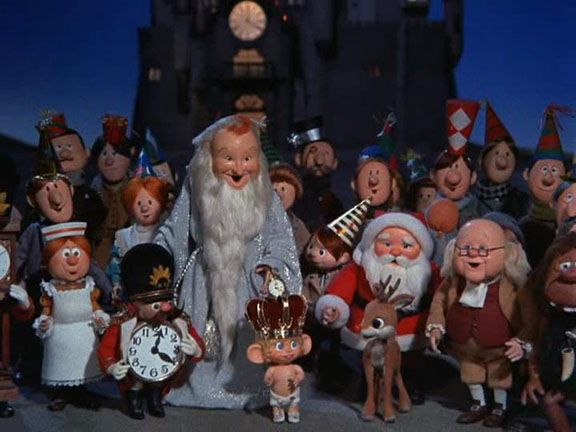 Rudolphs Shiny New Year is the 1976 stop-motion animated sequel to the 1964 television special Rudolph the Red-Nosed Reindeer, produced by Rankin/Bass.