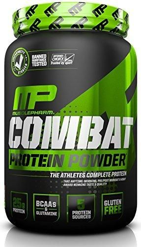 Muscle Pharm Combat Powder Advanced Time Release Protein Chocolate Peanut Butter 2 Pound