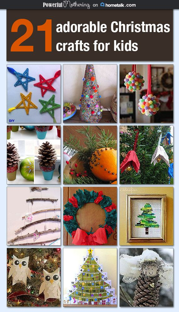 21 adorable christmas crafts for kids