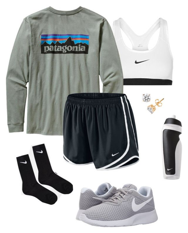 """#23"" by lily141 on Polyvore featuring NIKE and Patagonia"