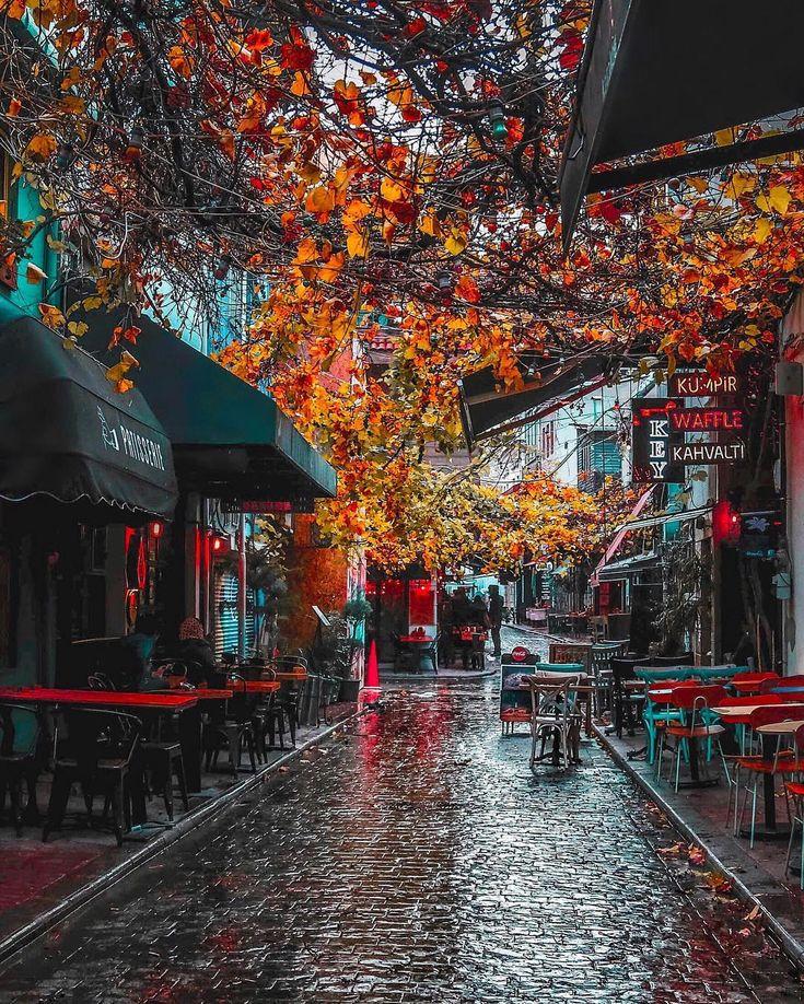 """12b Beğenme, 363 Yorum - Instagram'da Adem Barış (@admbrs): """"Güzelsin demiyorum. Çok güzelsin İstanbul..😌🧡☔️"""""""