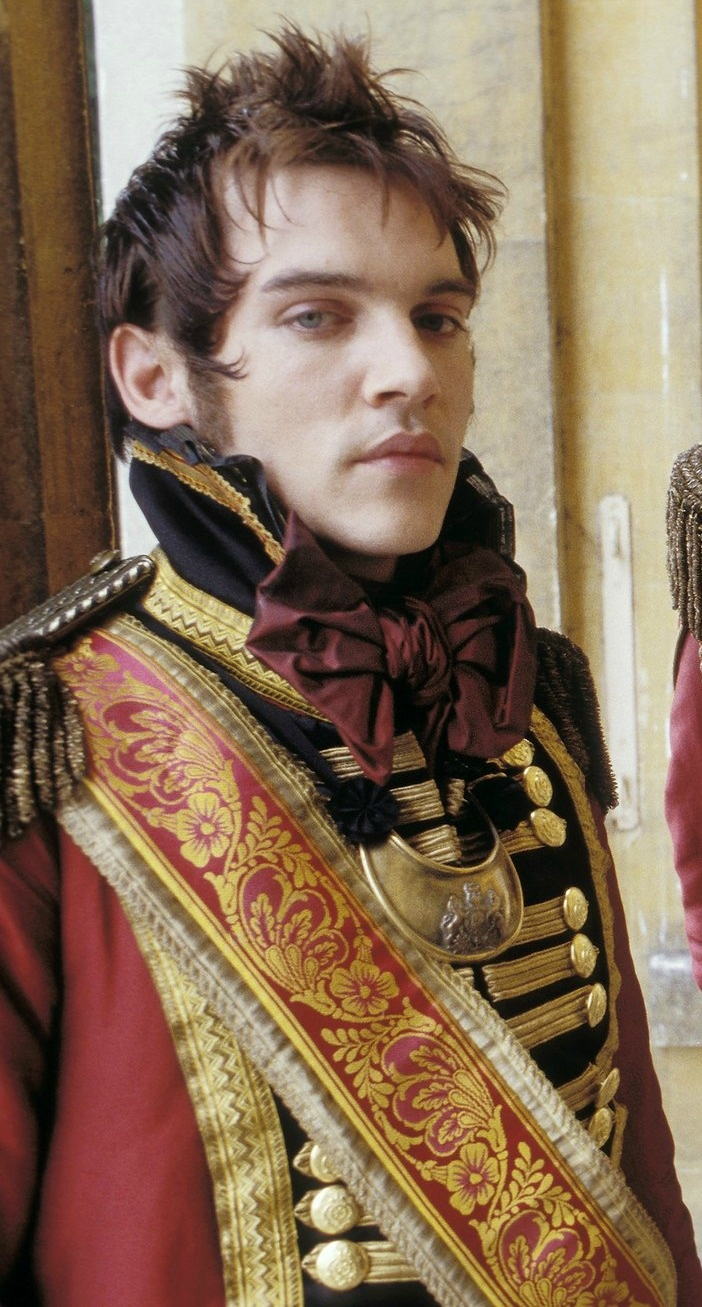 Jonathan Rhys Meyers in Vanity Fair, he's already incredibly good looking, but in that era, that style, wowww.