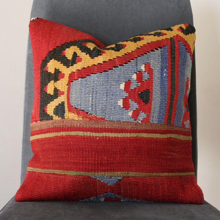 Anatolian Patchwork Kilim Cushion