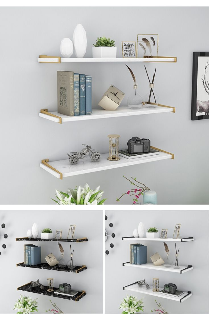 Pin By Home Decor Home Furniture On Wall Shelf Ideas In 2020 White Wall Shelves Wall Decor Living Room Wall Shelves Bedroom #white #living #room #shelves