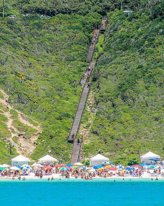 beach of Brazil: Praia do Atalaia - Arraial do Cabo - Rio de Janeiro Photo…