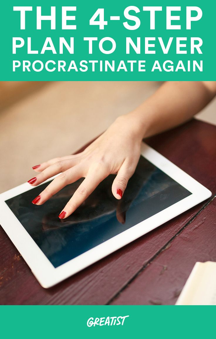 So many of us are prone to procrastination. Whether we're putting off finishing a project at work or skipping a workout. #procrastination #productivity http://greatist.com/connect/stop-procrastinating-get-started-now