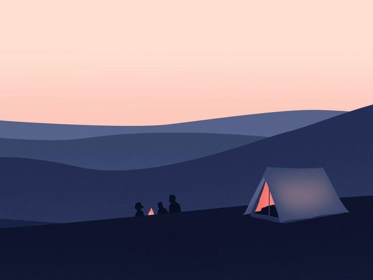 Sous la tente -Thomas Danthony.