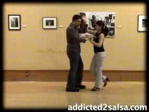 ▶ Salsa Dance Lesson : The Submarine Move - YouTube