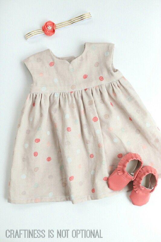 DIY Geranium dress
