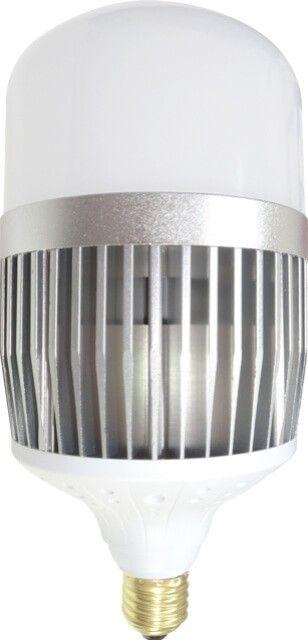 Cu un raport al fluxului luminos foarte mare, de 100 lumeni/Watt, BECUL LED E27 50W INDUSTRIAL ALB RECE emite lumina in culoare alb rece  prin intermediul LED-urilor Samsung de cea mai buna calitate. Prevazut cu dulie E27, becul LED industrial imprastie lumina uniform datorita dispersorului alb mat.