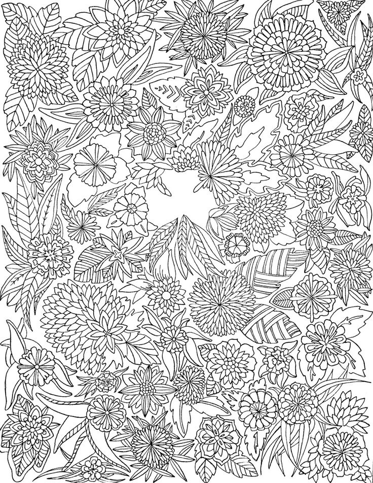 march flower coloring pages - photo#30