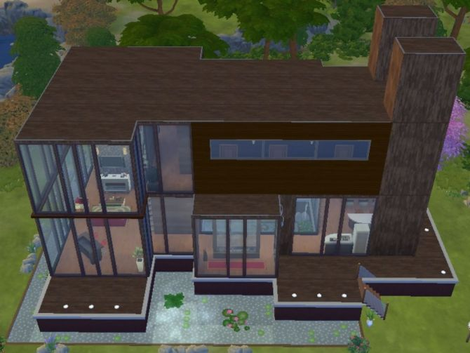 Mandrakis's house by Elby94 at TSR via Sims 4 Updates