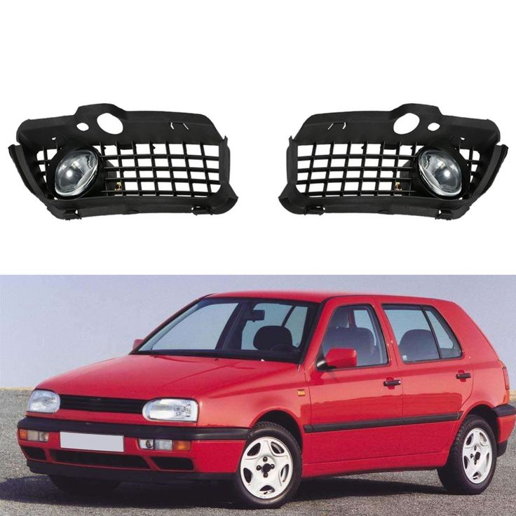 ==> [Free Shipping] Buy Best Car-Styling New Car Front Fog Light with Grill Fog Lamp Cover Fog Light Grille For VW Jetta 3 and Golf 3 from 1992-1997 Hot Online with LOWEST Price | 32814131764