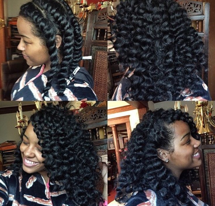 Flat Twist Out - http://www.blackhairinformation.com/community/hairstyle-gallery/natural-hairstyles/flat-twist-3/ #naturalhairstyles