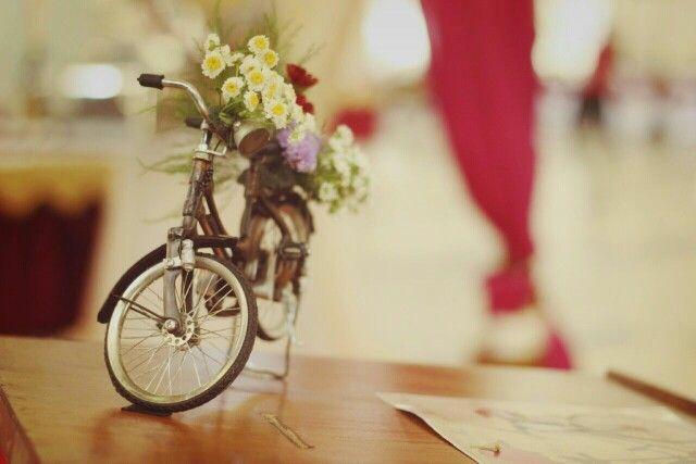 Bike theme decoration