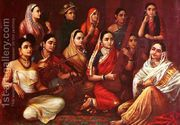 Galaxy of Musicians  by Raja Ravi Varma