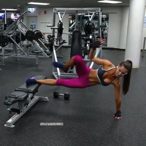 """2,393 Likes, 99 Comments - Training Videos (@trainingvideos) on Instagram: """"Awesome Core Workout to try! Tag a friend @thehomeworkouts Credit:@bagsandbunnies"""""""