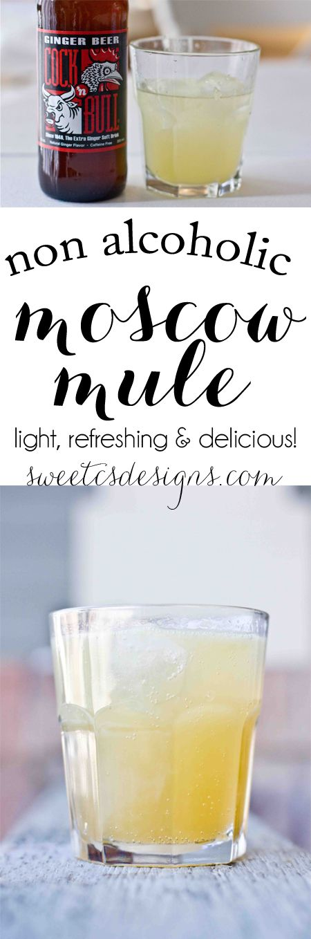 Non alcoholic moscow mules recipe refreshing drinks for Refreshing drink recipes non alcoholic