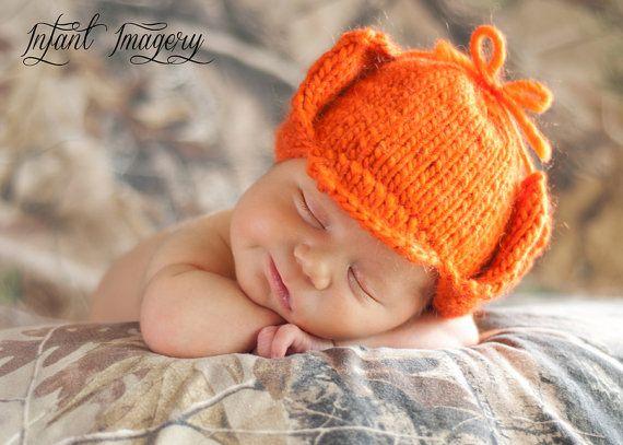 Fuddy Duddy Hunter Hat Knitting Pattern  All by MelodysMakings, $3.75