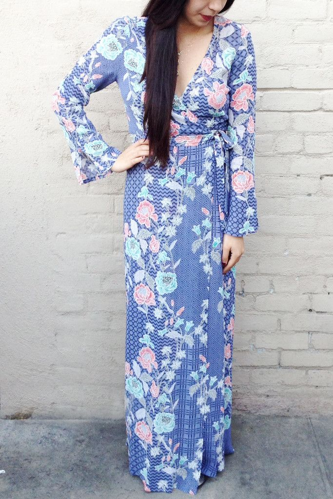 Tigerlily Purple Kimono Long Sleeve Maxi..one of our favorite dresses of all time!