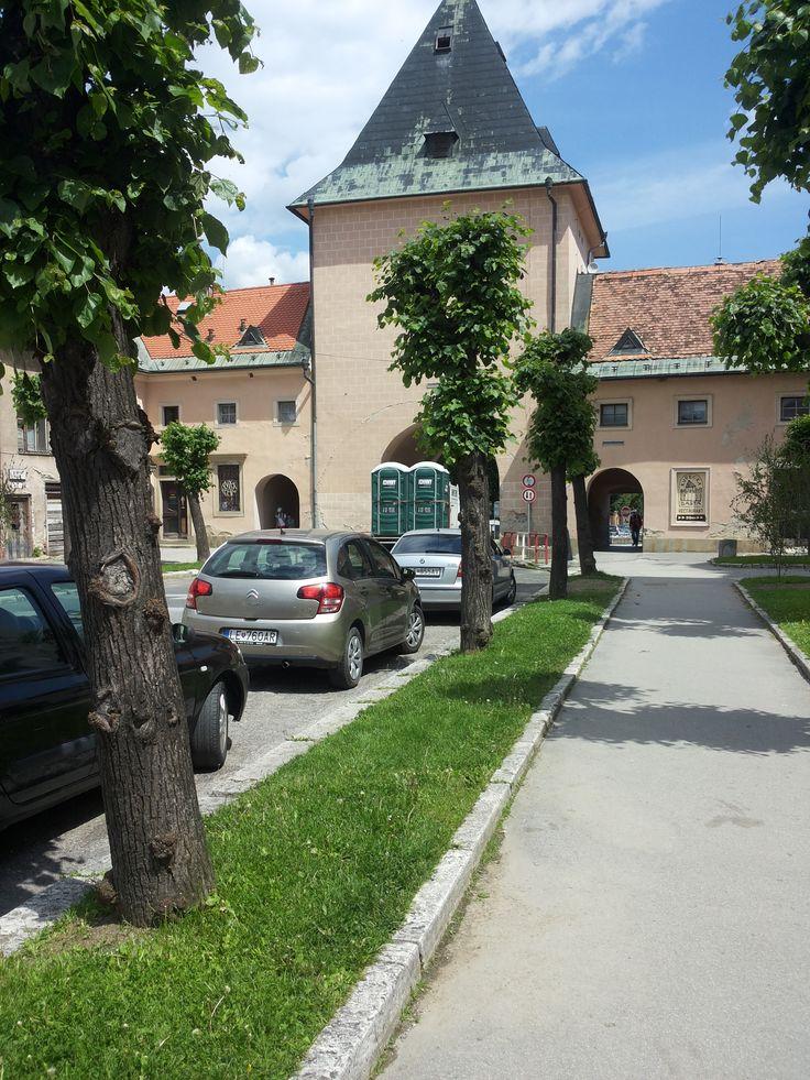 The Košice Gate, Levoča, Slovakia