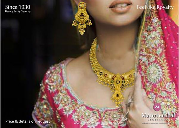Today's #Gold-rates are : #24kt.:- Rs 26,850 #22kt.:- Rs 24,610 #18kt.:- Rs 20,140  #Platinum Rate: Rs 30,700  Visit our nearest showroom and explore our exclusive range of beautiful jewelry, designs, new arrivals & lot more. Showrooms at : Defence Colony, Kohat Enclave, Preet Vihar & Noida or, kindly visit www.manoharlaljewellers.com