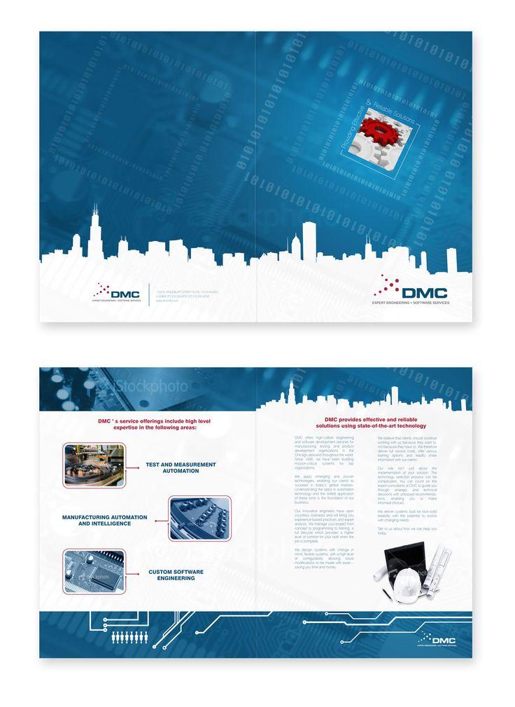 Best Interesting Brochure Folds Images On   Brochure