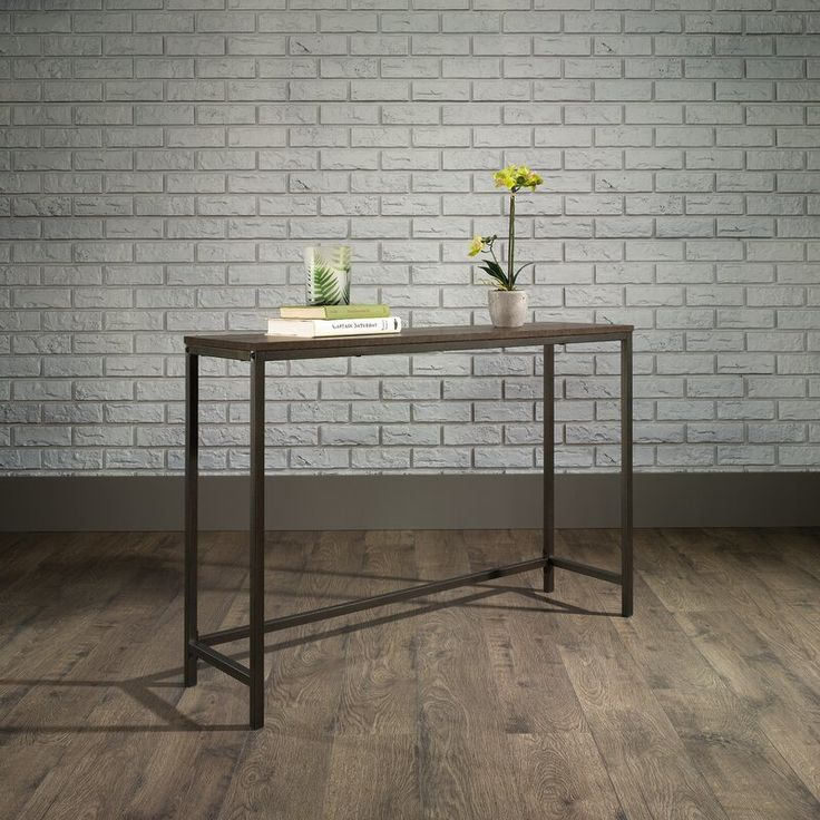 Ermont 42 console table in 2020 narrow console table