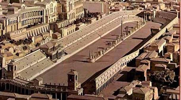 Maqueta do Circo Máximo de Roma