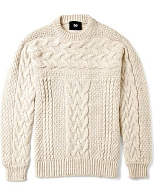ASOS Fashion Finder | Cream Chunky Cable Knit Jumper by DG Dolce  Gabbana ($200-500) - Svpply