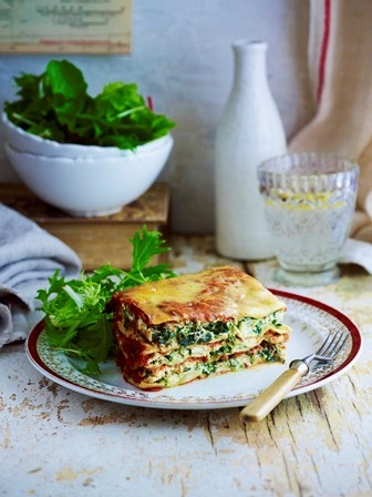 Spinach and Ricotta Lasagne from Slow Cooker 2, RRP $12.95, available from supermarkets and newsagents or online at www.magshop.com.au Photographer: Ian Wallace