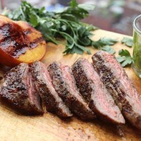 Skirt steak, Few ingredients and Steaks on Pinterest