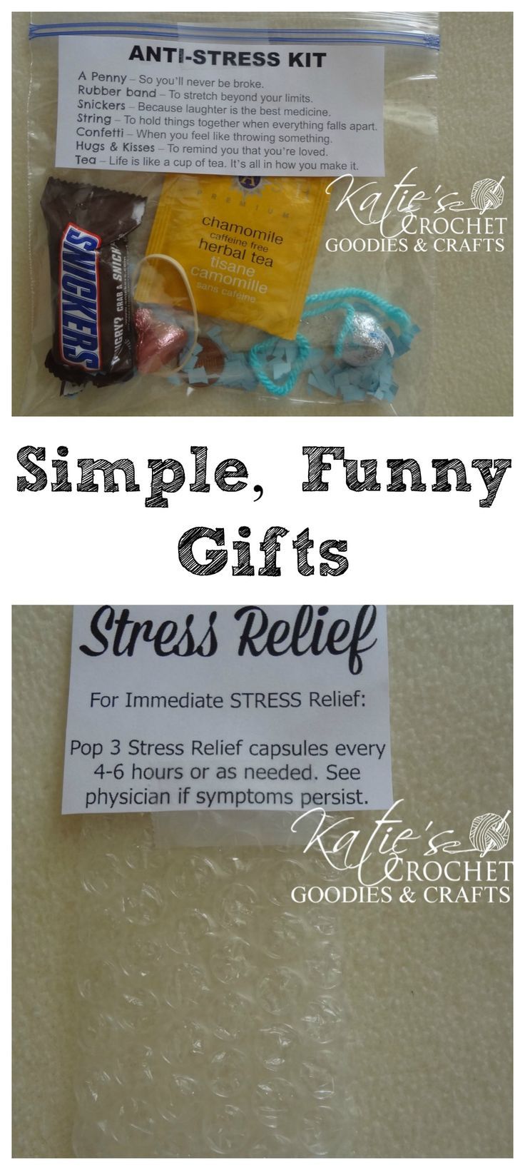 Simple, Funny Stress Relief Gifts