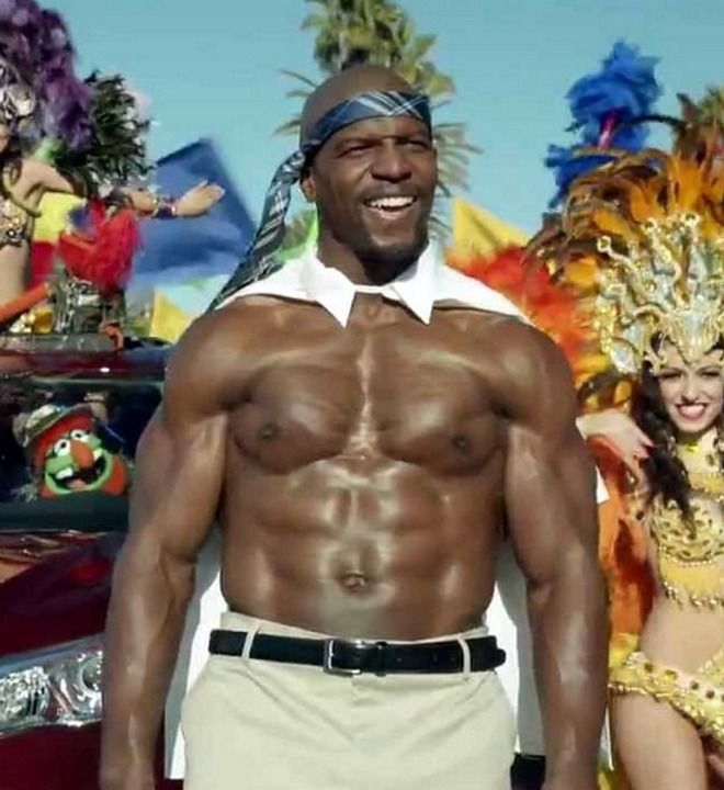 Shirtless Terry Crews And The Muppets Get Freaky In Toyota ...