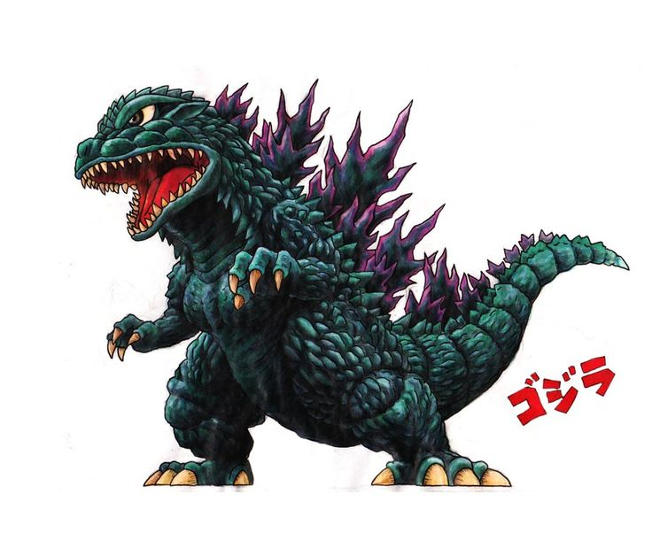 Awesome Godzilla art!