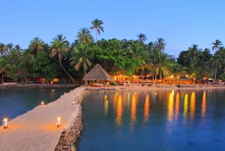 A deluxe island hideaway with traditional beachfront bures, Toberua Island Resort offers you an unforgettable Private Island experience. Featuring lush tropical gardens and white sand beaches, Toberua lies in an idyllic pocket of Fiji. Enjoy the turquoise lagoon that surrounds the island, indulge yourself in the spa or dance barefoot under the stars to the gentle sounds of live Fijian music. Indulge your senses on your own private island.
