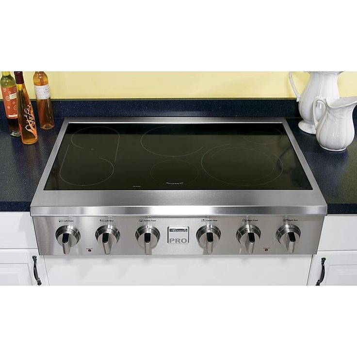 "Kenmore Pro - 40503 - 36"" Slide-In Electric Cooktop 