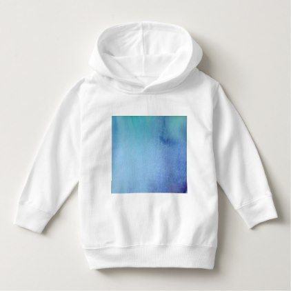 Dark Blue Marble Watercolour Hoodie - toddler youngster infant child kid gift idea design diy