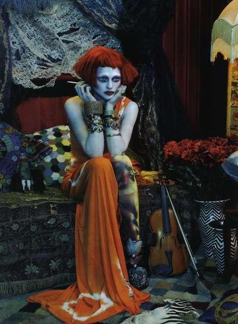 Photos of Vogue Italia February 2010 (Via: fashiongonerogue)