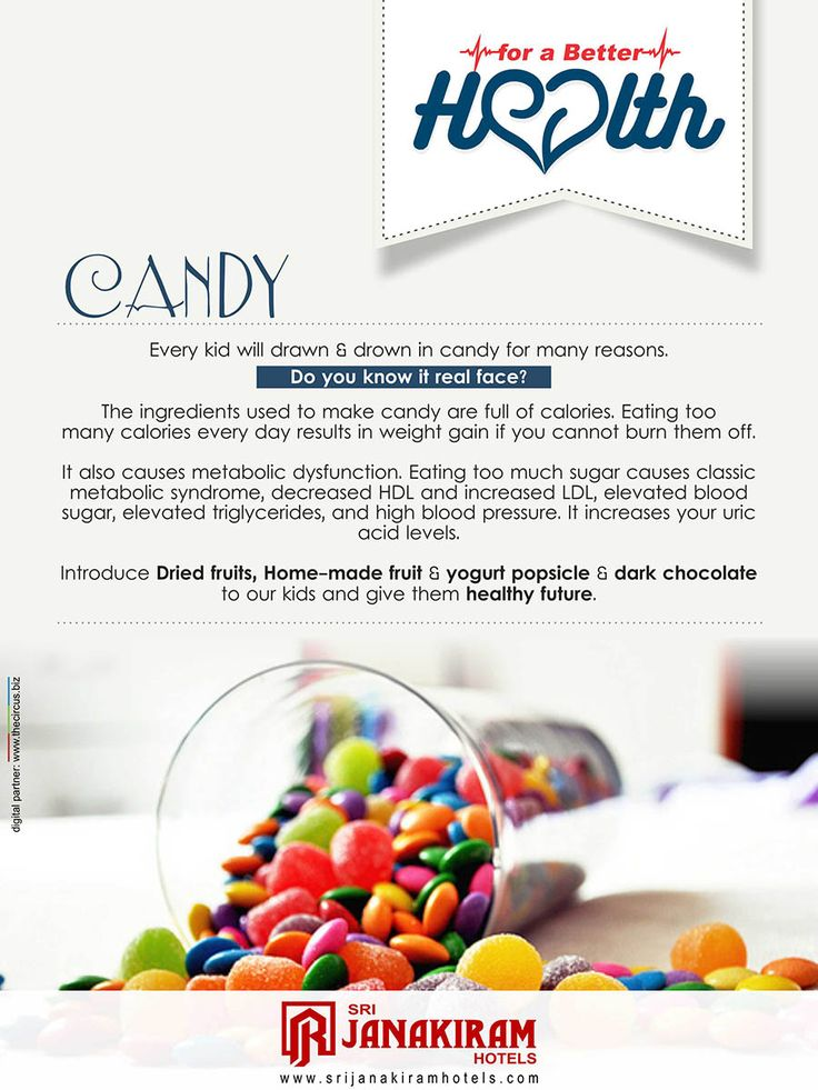 Candies are the most favorite all time snack of every kid. But you should know what are they actually having. Please concern it before they consume it.  #srijanakiram #health #candy #sugar #calories