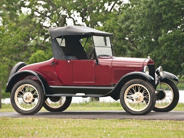 1926 Ford Model T Roadster - My dad restored and drove one of these Model T's