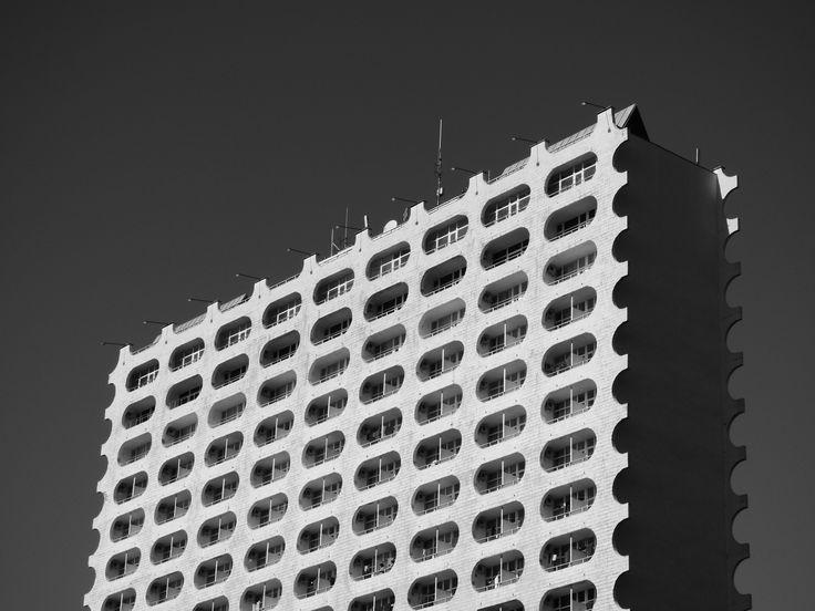 """Санаторий """"Искра"""". Фотография Юрия Грошева."""