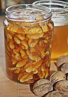 Honig - Walnüsse, ein schmackhaftes Rezept aus der Kategorie Schnell und einfach. Bewertungen: 46. Durchschnitt: Ø 4,2.
