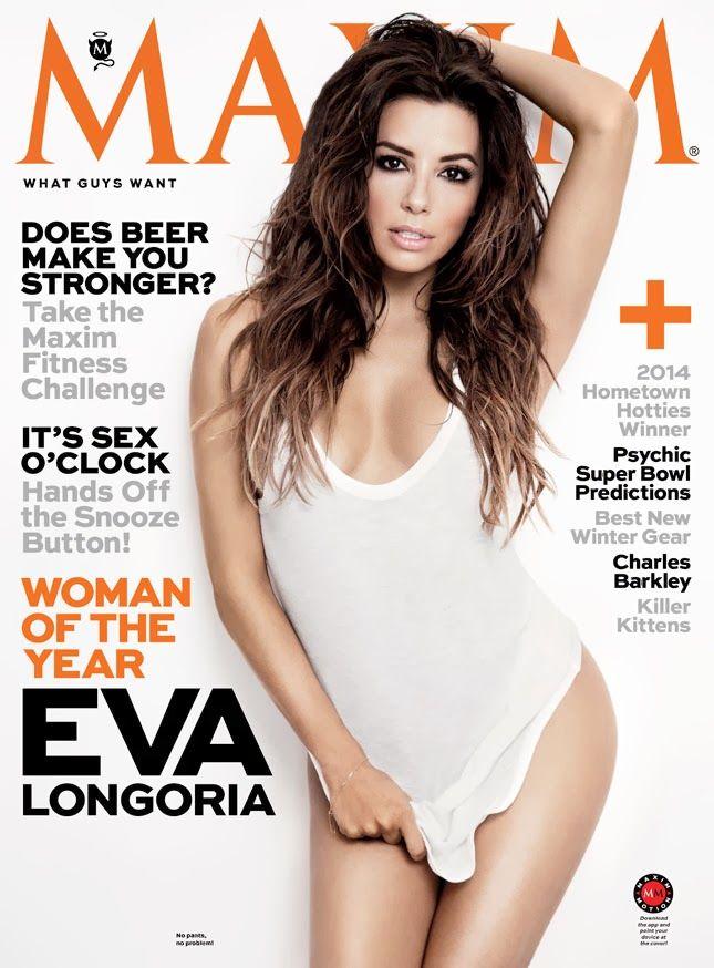 Eva Longoria for Maxim Magazine January/February 2014