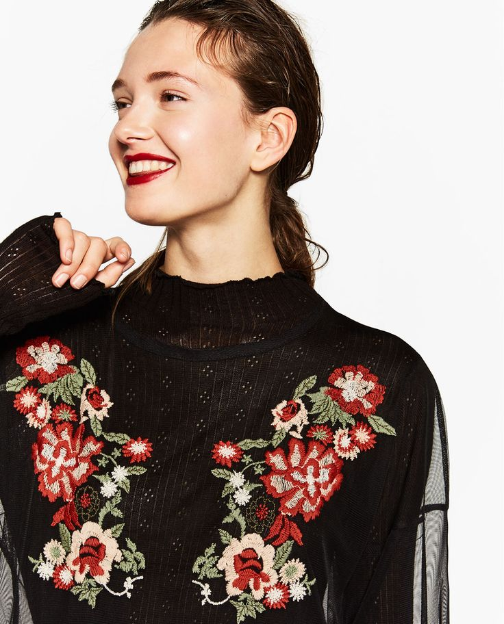 EMBROIDERED TULLE DRESS-DRESSES-WOMAN-SALE | ZARA United Kingdom