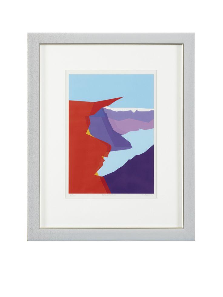 Trolltunga er en av de mest spektakulære fjellformasjonene i Norge. Den ligger 1100 moh, og 700 meter over Ringedalsvatnet i Skjeggedal i Odda kommune.Dette kunsttrykket er inspirert av den fantastiske fjellformasjonen.Kunstner: Monica HansenKunsttrykk (giclée).Format 30 x 42 cmTrykket på 315 g Innova Fine Art range  - rough texture.Begrenset opplag 100 stkNummerert og signert av kunstneren.Leveres uten innramming.Trolltunga is one of the most sp...