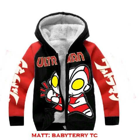 Jaket Baby Ultraman@45rb Bhn babyteri, fit 6-7thn, ready 10 mei, seri 2pcs ¤ Order By : BB : 2951A21E CALL : 081234284739 SMS : 082245025275 WA : 089662165803 ¤ Check Collection ¤ FB : Vanice Cloething Twitter : @VaniceCloething Instagram : Vanice Cloe