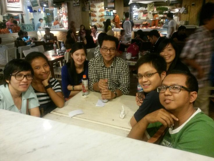 Gandaria citty, after trip party